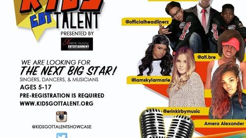 KIDS GOT TALENT AUDITIONS!!