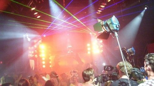 Film shoot high power class IV laser lighting design rental services by Tribal Existance Productions Worldwide
