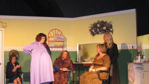 """The cast of the Slightly Off-Broadway Players' """"Steel Magnolias"""""""