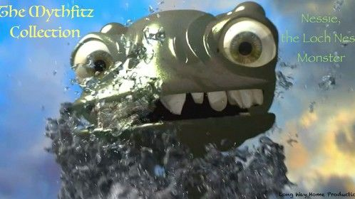 """Nessie. From the 1st film of The Mythfitz Collection film series. """"Erin, Owen, and the Loch Ness Monster."""""""