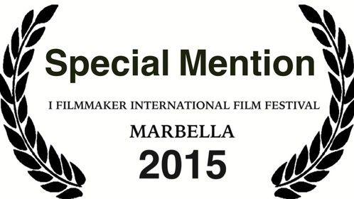 Special Mention I Filmmaker International Film Festival Marbella 2015
