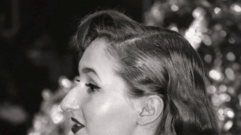 B&W portrait of Gabriela styled and shot by Khadijat Yussuff