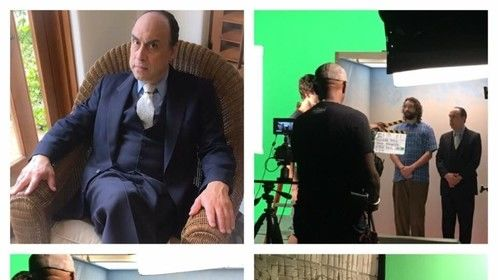 """Working on a short movie"""" Elevator Pitch"""", directed by Brian Reynolds, leading actors Phil Abrams & Logan Pietz"""
