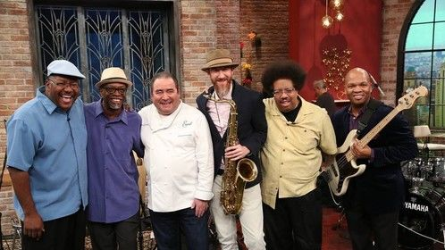 Emerald Live Band, Rachael Ray Show, NYC