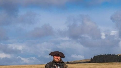 Photo by Eric Jedwab Of Polmartin Riding from the set Of The Highwayman