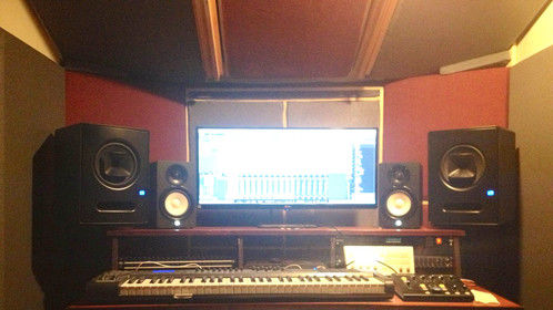 Installing the audio gear and testing the response of the room.  The room turned out incredibly accurate and acoustically flat. Every detail can be heard with the utmost clarity. Even the slightest audio imperfections are easy to hear, and more importantly, easier to treat!  Drop me an email if interested in sound mixing services, Scores, custom music cues or temp tracks, sound design, or dialogue editing/cleaning/restoration or preparation.