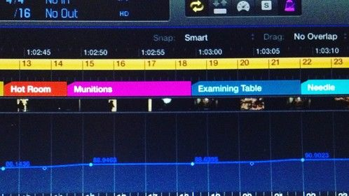 """Finding the appropriate tempo when scoring a scene is delicate work. Oftentimes this is a crucial part of the scoring process unknown to new film makers.   It's a vital part of how music gets scored to picture in the most tasteful way possible. It's time consuming, and honestly not the funnest part of the job!   But, """"tempo mapping"""" is a HUGE step that sets apart an experienced composer from someone just getting their feet wet...  www.devildogsmovie.com http://www.imdb.com/title/tt3867596/?ref_=ttfc_fc_tt"""