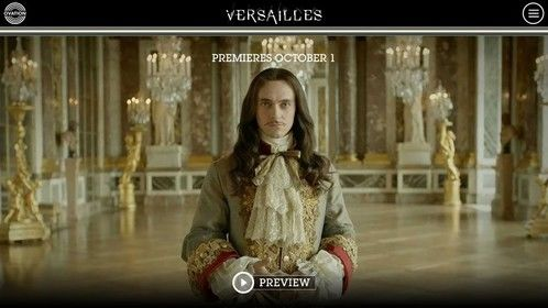 20 years ago, I started my own indie design studio in the bedroom of my parent's place in the Jersey Shore. Fast forward and on the day of myb 20th Anniversary, I launched one of my finest designs to date. It's for Ovation TV and their upcoming series, Versailles. It's imported from Canal+ in France and SuperChannel in Canada and it should be a great series. Hope you like the site as much: http://ovationtv.com/versailles/