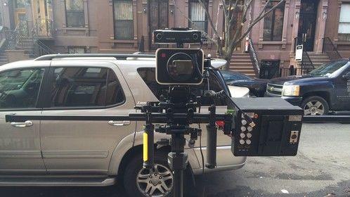 Setup For Harlem Stoop Shoot