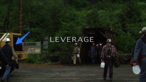 "Leverage Season 3: Episode 10 ""The Underground Job"". I played a West Virginia coal miner."