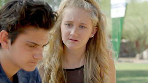 Shane Vincent and Freya Roten in DEPTH PERCEPTION