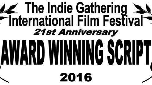 "2nd Place Award for our Pilot Script 'Roots of Rebellion"" at the IndieGathering International Film Festival."