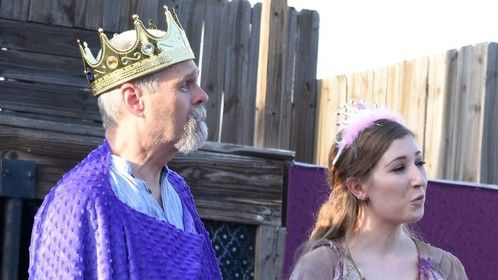 Mr. Weaver's Backyard Circus Presents: A Connecticut Yankee in King Arthur's Court (2016 at Hip Pocket Theatre)  Photo by Robert Bourdage