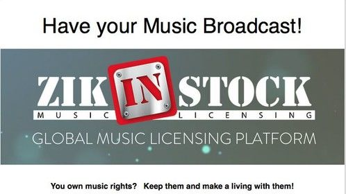 Hey, music composer!! Make a living with your music, more info at http://www.zikinstock.com