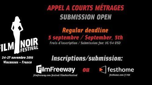 Submit on FilmFreeway: https://filmfreeway.com/festival/FilmNoirFestival