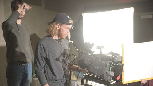 Shooting with the Arriflex D-21 on the set of I Did A Bad, Bad Thing