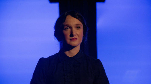 "The Governess in Annapolis Shakespeare Company's ""The Turn of the Screw."" (Photo by Joshua McKerrow.)"