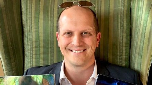 Picture Book Author Derrick Philip Begin