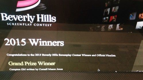 Silver Medal Winner for Existing Series: Beverly Hills Screenplay Contest!