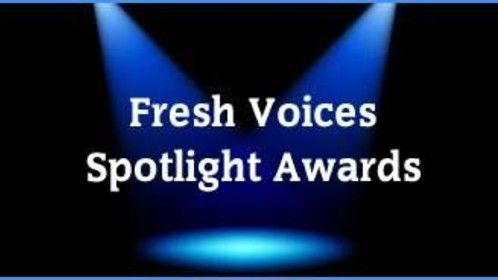 """Nomination for this award is for """"great characters sure to appeal to A list actors"""". Doorlocker scored an 8.3/10 on the Fresh Voices Scorecard."""