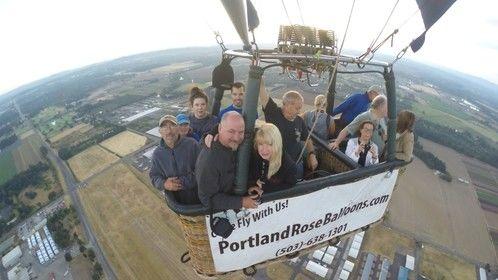 5th Anniversary balloon ride