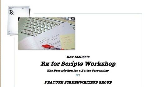 DALLAS SCREENWRITERS:  I now have openings in my workshops on Tuesday and Wednesday evenings!