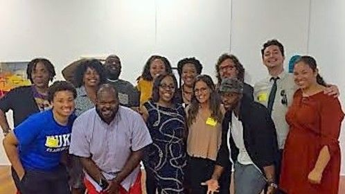 The artists from the 2016 Sundance New Frontier Lab in Charlotte, NC