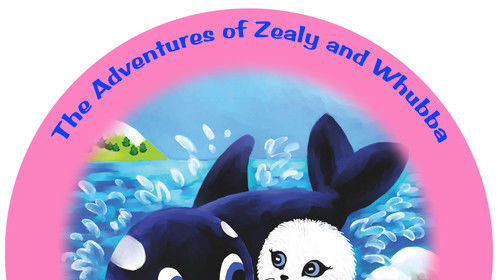 Award Winning Series,      THE ADVENTURES OF ZEALY & WHUBBA! Created By Roe De Pinto