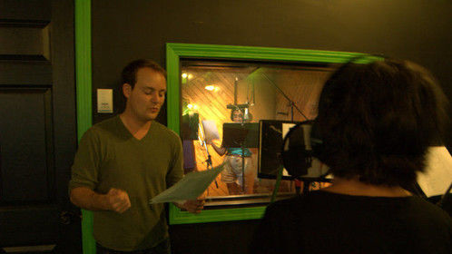 Coaching some students for a weekend intensive voice acting workshop - http://youractingcoach.ca/