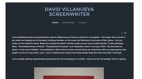 As an aspiring screenwriter looking to get representation/optioned in 2017, I wish my fellow screenwriters a Happy #NationalScreenwritersDay! http://davidscreenwriter.weebly.com/
