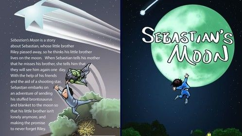 "I'm excited to announce that my new children's picture book ""Sebastian's Moon"" about a boy whose little brother passed away, and he thinks his brother went to the moon, will be released 1/30/17!  For more info you can check out my website: http://booksbydavidv.weebly.com/  I'm looking forward to big things in 2017 with the release of my new book, as well as developing my screenwriting craft on my quest to getting representation/optioned."