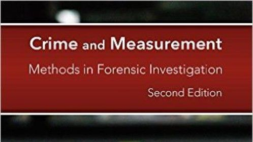 2nd Edition of Crime and Measurement
