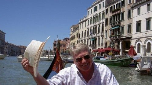 Doing research in Venice, Italy