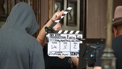 "Writer Producer Director Robby Haynes - Fighting Talk Day 1 ""Run Matt"""