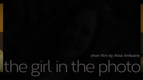 Promo Cover photo for the short film, The Girl in The Photo