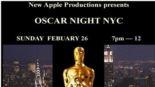 Our 5th year presenting our NYC Oscars...I interview on the red carpet and we film and show the interviews