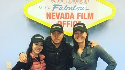 Our visit to the Nevada Film Office afer we opened our new Casting Studio in Las Vegas this week.