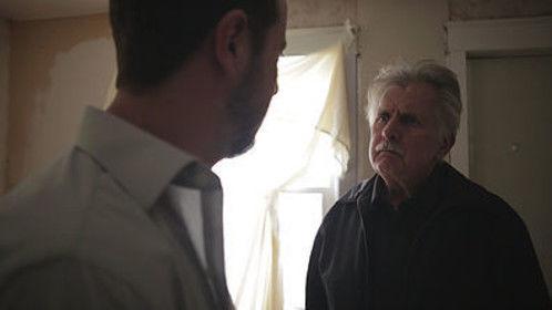 George (Nicholas Joseph Mackey) and Ambrose (Joe Estevez) - Pizza Man