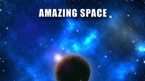 Free instrumental music album Amazing Space by Greek composer Sakis Gouzonis