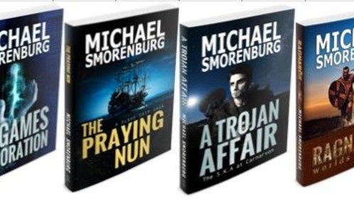 My 4 novels get a 'branded' facelift