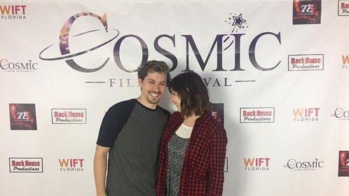 """Attending the Cosmic Film Festival for """"Hangman"""""""