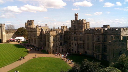 Recently filmed at Warwick Castle for Youtube footage. Lucky with great weather.