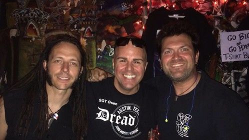 2013-Adrenaline Mob Tour with John Moyer (Bassist-Disturbed/Adrenaline Mob/Art of Anarchy) and Jim Fetzer (Fetzer Productions)