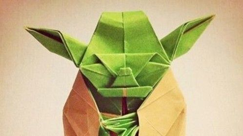 origami yoda - May the 4th Be With You!