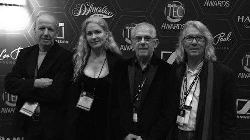 TEC Awards dinner, LA 2015