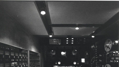 Le Mobile in the 80's with two classic Studer A 800's