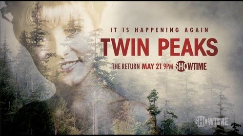You can catch me tomorrow night on Twin Peaks: The Return - Showtime 9pm