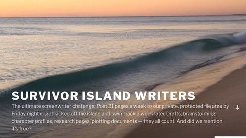 Join my writing challenge group, https://survivorwriters.wordpress.com/