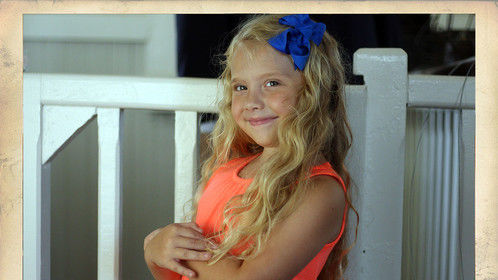 Payton Rae on location in Burgaw, NC during a recent photography shoot with Lance Britt for a new magazine cover.