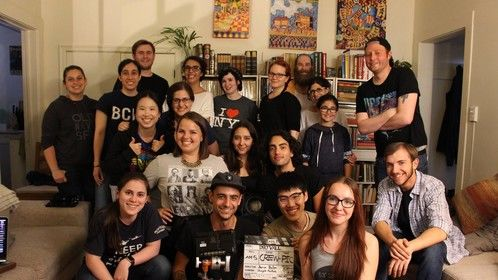 Drywall short film is a WRAP! It's been fun being a casting director and script supervisor. 10/10 would do again.